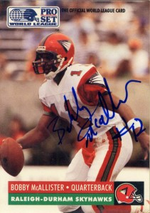 Bobby Mcallister The Football Autograph Encyclopedia